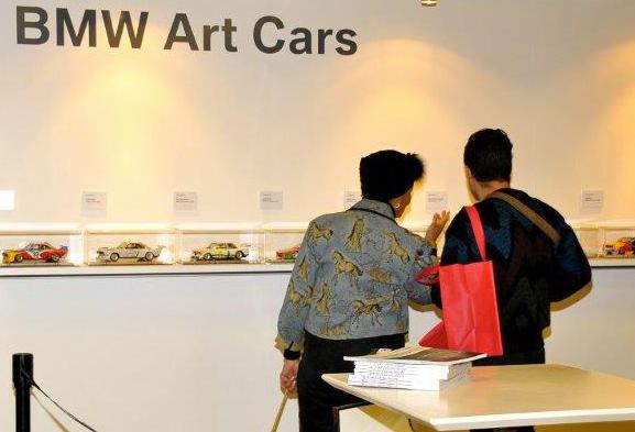 BMW Art Cars Exhibition